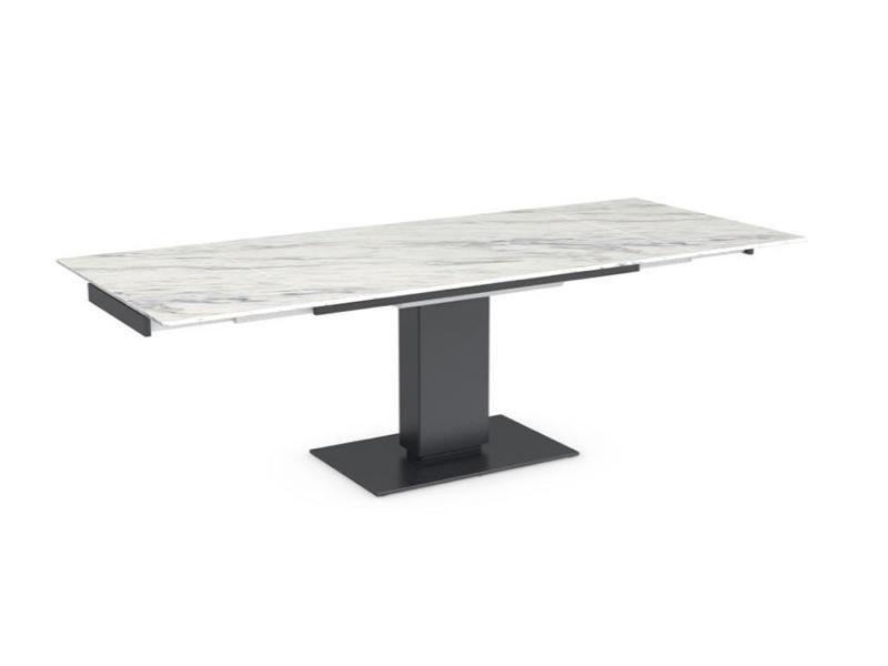 Calligaris echo 140cm ceramic dining table for Calligaris echo