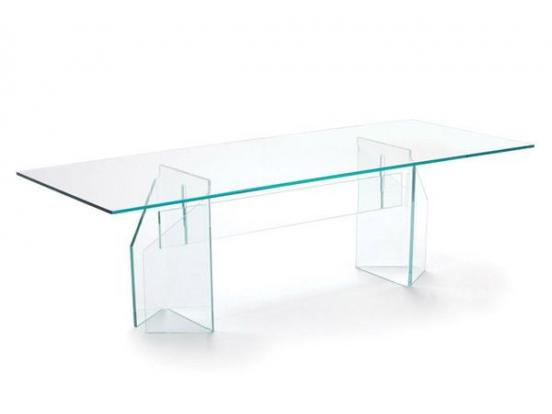 Sovet - Doge Extralight Glass Top Table