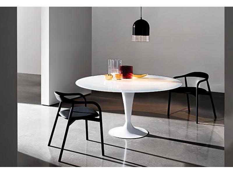 Sovet - Flute 160cm Elliptical Ceramic Dining Table