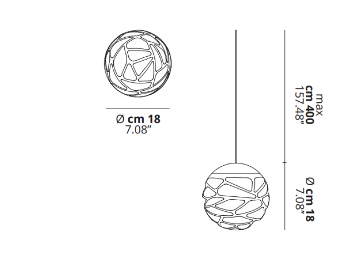 Lodes - Kelly Cluster Multi-Drop Pendant