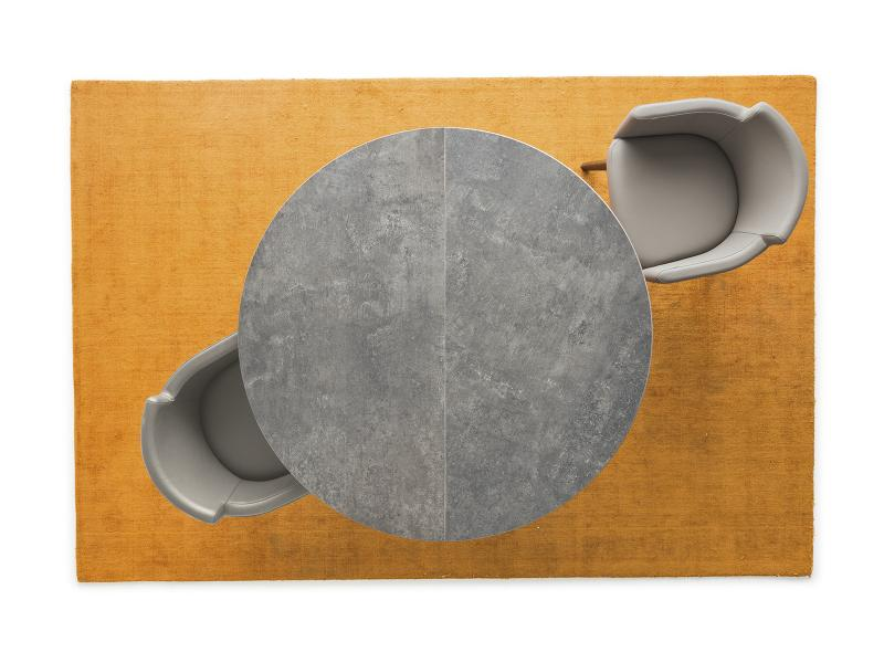 Lead Grey Ceramic Table