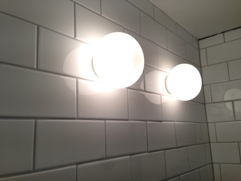 Flos mini glo ball ceiling wall light mozeypictures Gallery