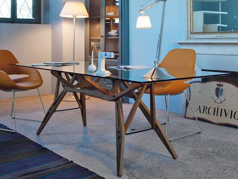 Zanotta Reale Table 200 Cm